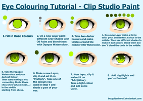 Eye Colouring Tutorial by Goldschweif