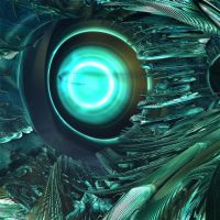 Cybernetic eye. by wolfwings1