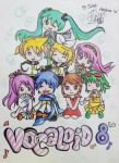 Vocaloid 8 by HelenaWT