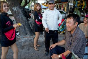 street selling mobile phone cards by watto58