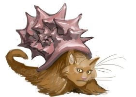 Kitty Conch by CBSorgeArtworks