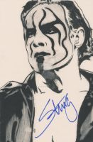 Sting Signed by predator-fan