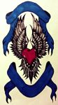 Designed for a remembrance tattoo. by daddydragon66613