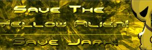 Save The Yellow Alien Sig by Icecrack
