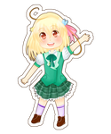 Hiyori Bookmark by Shalambay-Shift