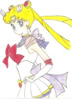 sailor moon in color by animelove1234
