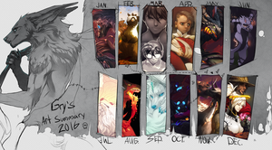 Art summary 2016 by Grypwolf