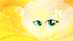 EG Fluttershy Wallpaper by DigiTeku