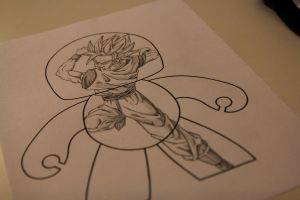 Goku Mighty Mugg Blueprint by Outspire