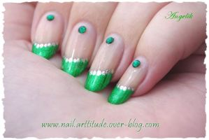 Nail Art Foil French Matrix by Angelik23