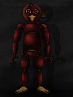 FNAF - The Maycaw animatronic by Detective-May