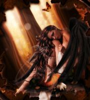 Pumpkin Angel by Fae-Melie-Melusine