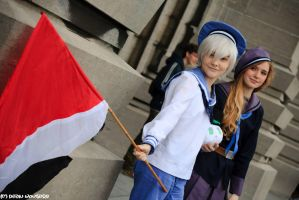 Made in Asia 2014 Sealand and Nyo!Norway by AokiBelgii