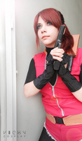 Resident Evil 2 cosplay - Claire Redfield by VickyxRedfield