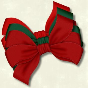 Christmas Bows 7 by PhotoImpactPixels