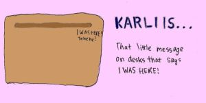 Karli is a message by CaliAli16