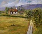 The old farm cottage by Buble