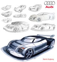 Audi Le Mans 2015 by MartinEDesign