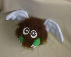 Life-sized Kuriboh plush by goiku