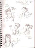 Generator Rex sketches by bambzilla