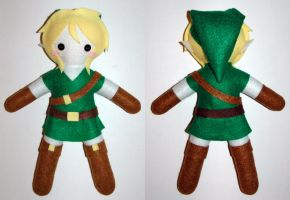 OoT Link Plush by AlchemyOtaku17