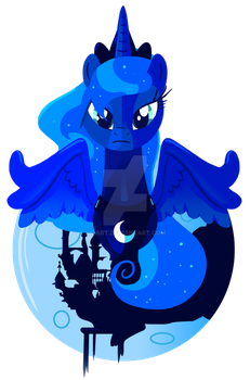 Princess of the Night: Luna by Ilona-the-Sinister