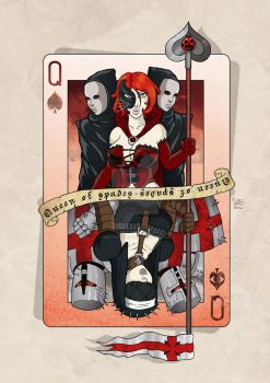 Queen of spades by mala666italy