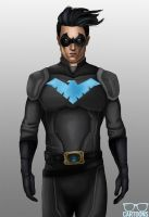 Nightwing by rgcartoons