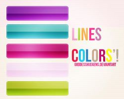 Lines colors' by goddessHudgens