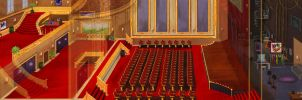 Theatre Interior by kovah