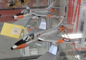 Hawker Hunter T.7 Trainers by rlkitterman