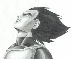 Vegeta by UltimateSasuke