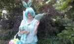 Human!Flying Mint Bunny cosplay 2 by southpony98