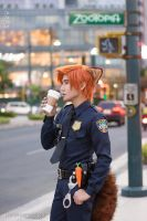 Officer Nick Wilde Coslay - ZOOTOPIA by liui-aquino