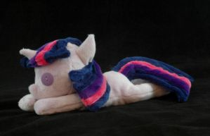 Beanie Baby Twilight Sparkle Plushie by WhiteHeather