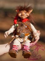 Pippin the Goblin Art Doll by The-GoblinQueen