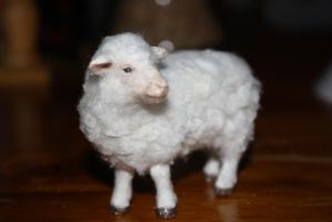 Flocking A Sheep Figure Completed! by Tigereyes6302
