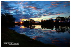 Mitchell River Sunset HDR v1 by jawg1982