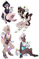 CLOSED Plumadra (+Raffle) Set Price Designs by ThisAccountIsDead462