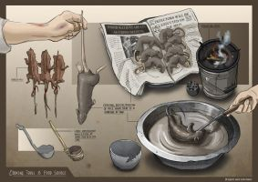 Sewer Boys - Emergency food source by Clotaire