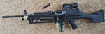 Airsoft AK M249 Side shot by Luckymarine577