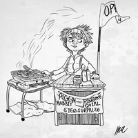 Young Chef (Line Drawing) by Daniel-McCloskey