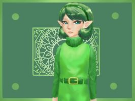 Saria: Ocarina of Time by tigeatoray