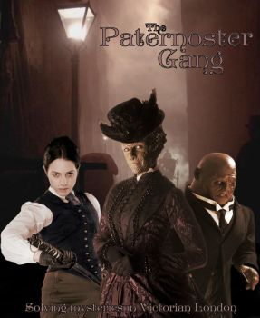 The Paternoster Gang poster by Doctor-Oho
