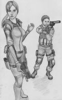 Jill and Chris by AniMaArtist