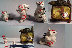 3/13 Zodiac from Okami by AmethystCreatures