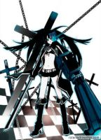 Black Rock Shooter by Penguinxx