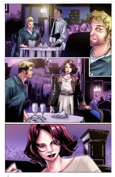 Olivier Coipel comic art/ color by Angel Rd by angelrd24