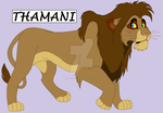 Thamani - Lucky To Be Alive by Lil-Cheetah