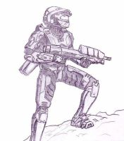 Master chief by untipollamadocarlos